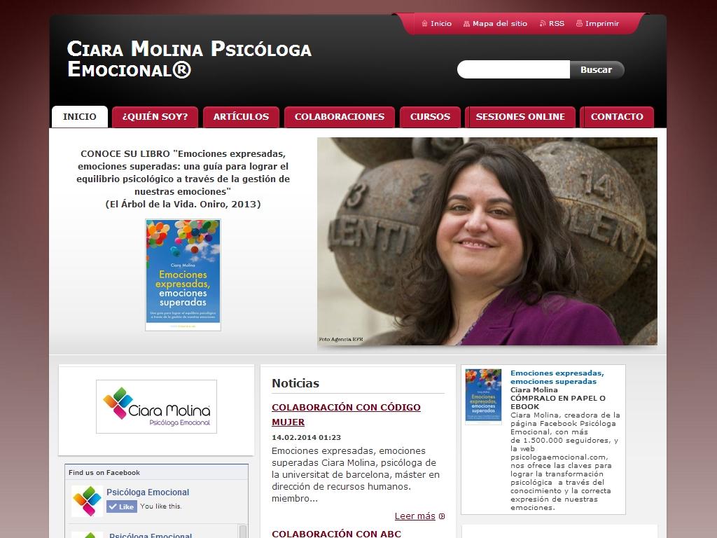 Ciara Molina - Psicóloga Emocional